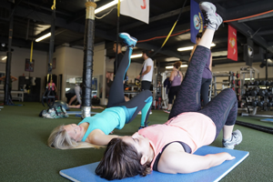Work out with Irvine personal trainer